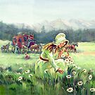 PICKING DAISIES by SHARON SHARPE by sharonsharpe