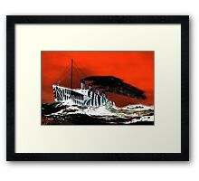 RMS Titanic's Senior Sister RMS Olympic - all products bar duvet Framed Print
