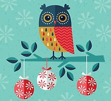 Whoo-Hoo It's Christmas - Card Only by daisy-beatrice