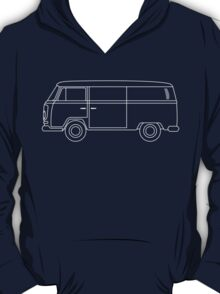 VW T2 Van Blueprint T-Shirt