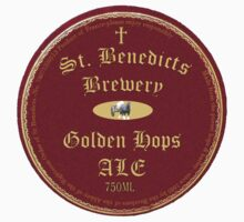 St Benedicts Beer Label by evilfroot