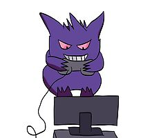Kid Gengar by Helenave