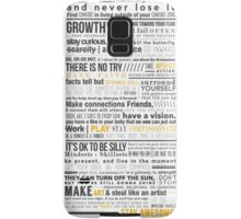 Breakthrough Cocktail Living Creed 1.0 Samsung Galaxy Case/Skin