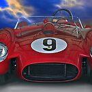 1958 Ferrari 250GT Testa Rossa I 'Head On' by DaveKoontz