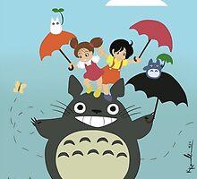 My Totoro Family ! [UltraHD] by Paul Gautier