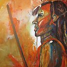 MASSAI-WARRIOR by GittiArt