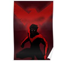 Red Nightwing  Poster