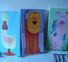 Painting Set for Children by kimathy