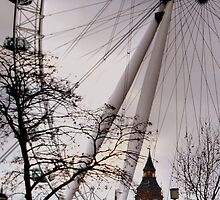Big Ben London Eye by Karen Martin IPA