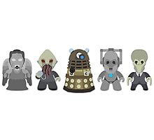 Doctor Who Monsters Photographic Print