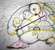 Nude Violin Concert by mago