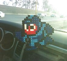 Mega Man Pixel Art by RoboBarb