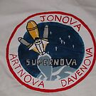 Supernova Shirt (back) by RoboBarb