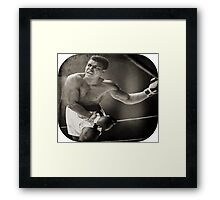 Sting Like a bee Framed Print