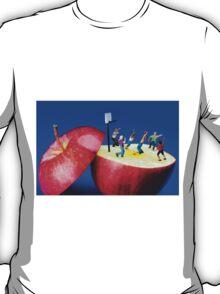 Basketball Games On The Apple T-Shirt