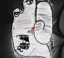 Handy the Graffiti Monster by bchrisdesigns