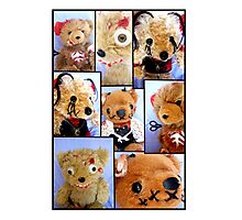 Bad Teddy's Photographic Print