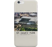 Vintage Football Grounds - St James' Park (Newcastle United FC) iPhone Case/Skin