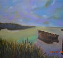Tranquility       (work in progress)   Oil on canvas by SONIA63