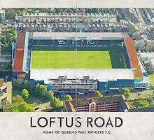 Vintage Football Grounds - Loftus Road (Queens Park Rangers FC) by twelfthman