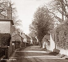 High Street, Findon, Worthing. by CentenaryImages
