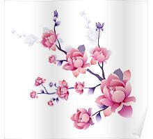 Cherry blossoms I Poster