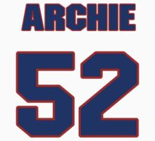 National baseball player George Archie jersey 52 by imsport