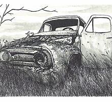 Abandoned Car - www.jbjon.com by Jonathan Baldock