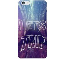Let's Trip iPhone Case/Skin