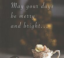 And may all your Christmases be white by Nieves Montano