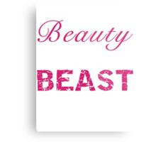 Look Like a Beauty, Train Like a Beast Metal Print