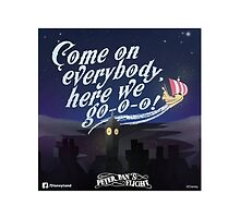 Disney Parks, Peter Pan attraction quote by JakeyJurin