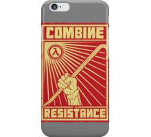 Combine Resistance iPhone Case/Skin