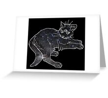 starfield psychic cat [2] Greeting Card
