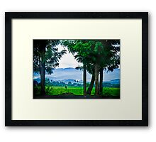 Did I also mention Rwanda is beautiful? Framed Print
