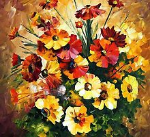 Songs Of My Heart — Buy Now Link - www.etsy.com/listing/190266074 by Leonid  Afremov