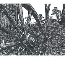 Old Wheel - www.jbjon.com by Jonathan Baldock