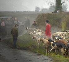 Last day hunting, Quorn Hunt Feb 2005 by Barry Thomas