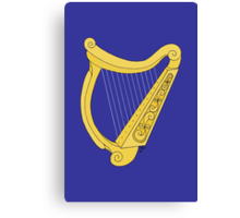 Irish Harp Canvas Print