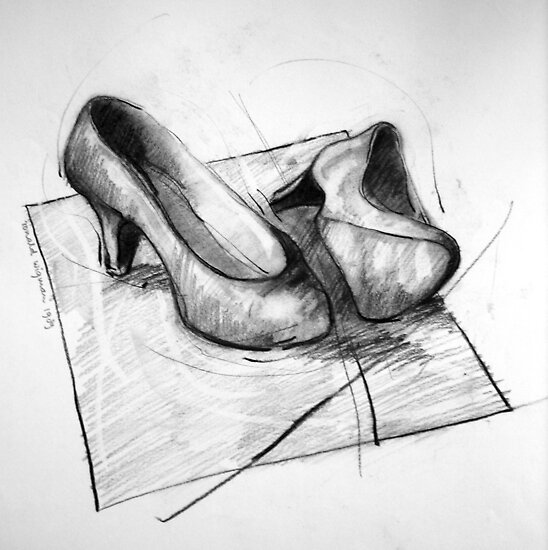 Shoe portrait 02 by Ronald Wigman