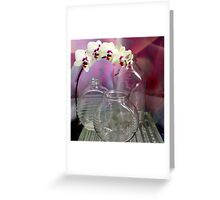 Pleasant Over Glass Greeting Card