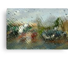 Sudden storm Canvas Print