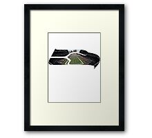 Seattle Seahawks CenturyLink Field Color Framed Print