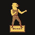 Boxer Dog Bonzo Bones by SusanSanford