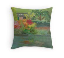 Le Jardin de Monet Throw Pillow