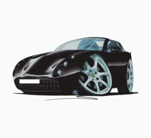 TVR Tuscan S Black by Richard Yeomans