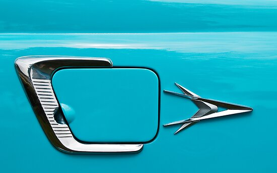 50's Plymouth by James Howe