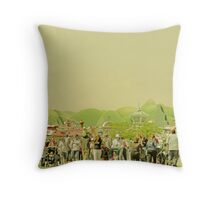 Museum of Tolerance Throw Pillow