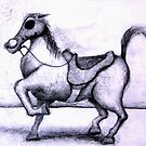 Gas mask for a horse by Dr Woo