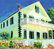 McCoy House in Old Town San Diego California by RDRiccoboni